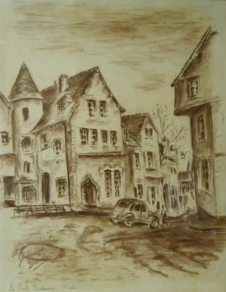 Chartres, la cathédrale, les rues, les maisons, les ponts - Pierre ...