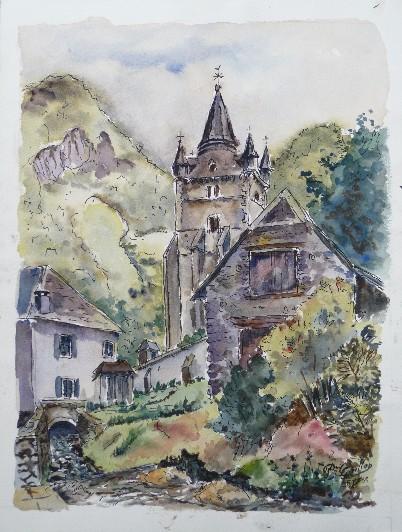 Son parcours artistique - Pierre Guillon, artiste-peintre
